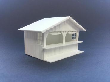 Markthütte Variante 1, Bausatz
