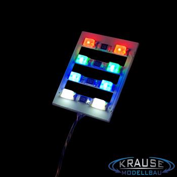 Lichtmastbeleuchtung Lichtkasten Nachrüstsatz fertig verdrahtet für Faller Break Dance 140461 Stückzahl wählbar