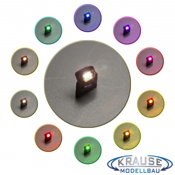 Miniaturstrahler 0805 4 x 3 mm Bausatz Farben wählbar