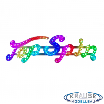 Top Spin Schriftzugplatine adressierbare LEDs passend für Faller 140431