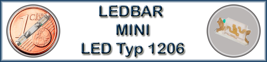 LEDBAR MINI LED Typ 1206