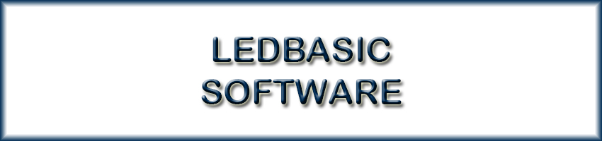 LEDBASIC Software