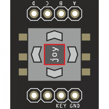 LED-BASIC-PICO Joystick-Modul
