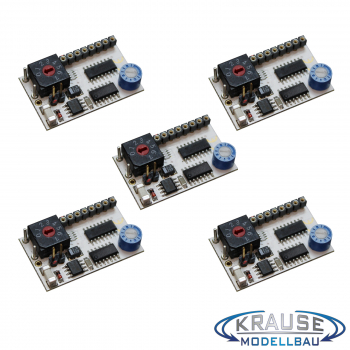 "LED Lauflichtsteuerung LEDCONTROL-MICRO 5 Kanäle für Kirmes Modelle /""Kirmes 3/"""