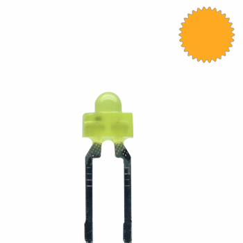 LED 1,8mm gelb diffus blinkend 1,8 Hz