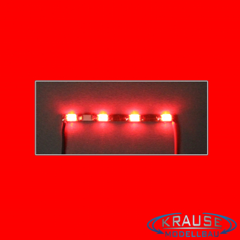 LEDBAR MINI LED Typ 1206 mit 4 roten LEDs