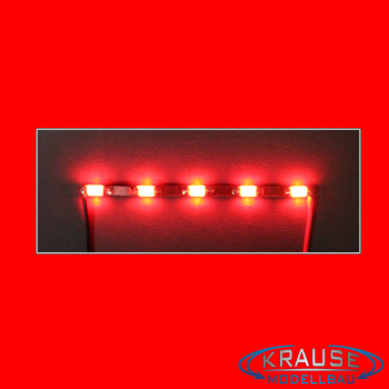 LEDBAR MINI LED Typ 1206 mit 5 roten LEDs