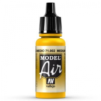 Airbrushfarbe Vallejo Model Air 71002 Yellow 17ml