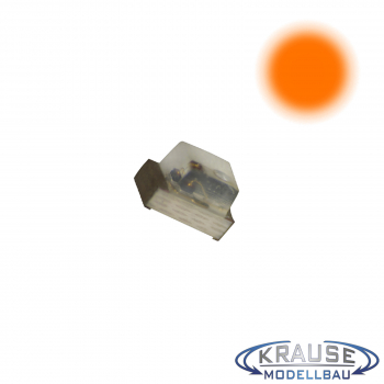 SMD-LED Typ 0603 orange, klares Gehäuse Serie 1
