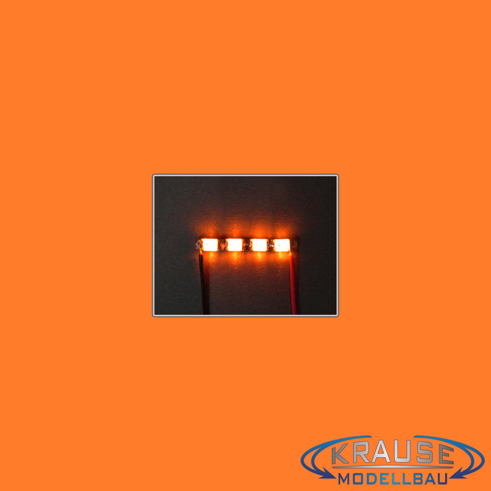 LEDBAR CLUSTER MICRO LED Typ 0805 mit 2 pinken LEDs Modellbahn Modellbau