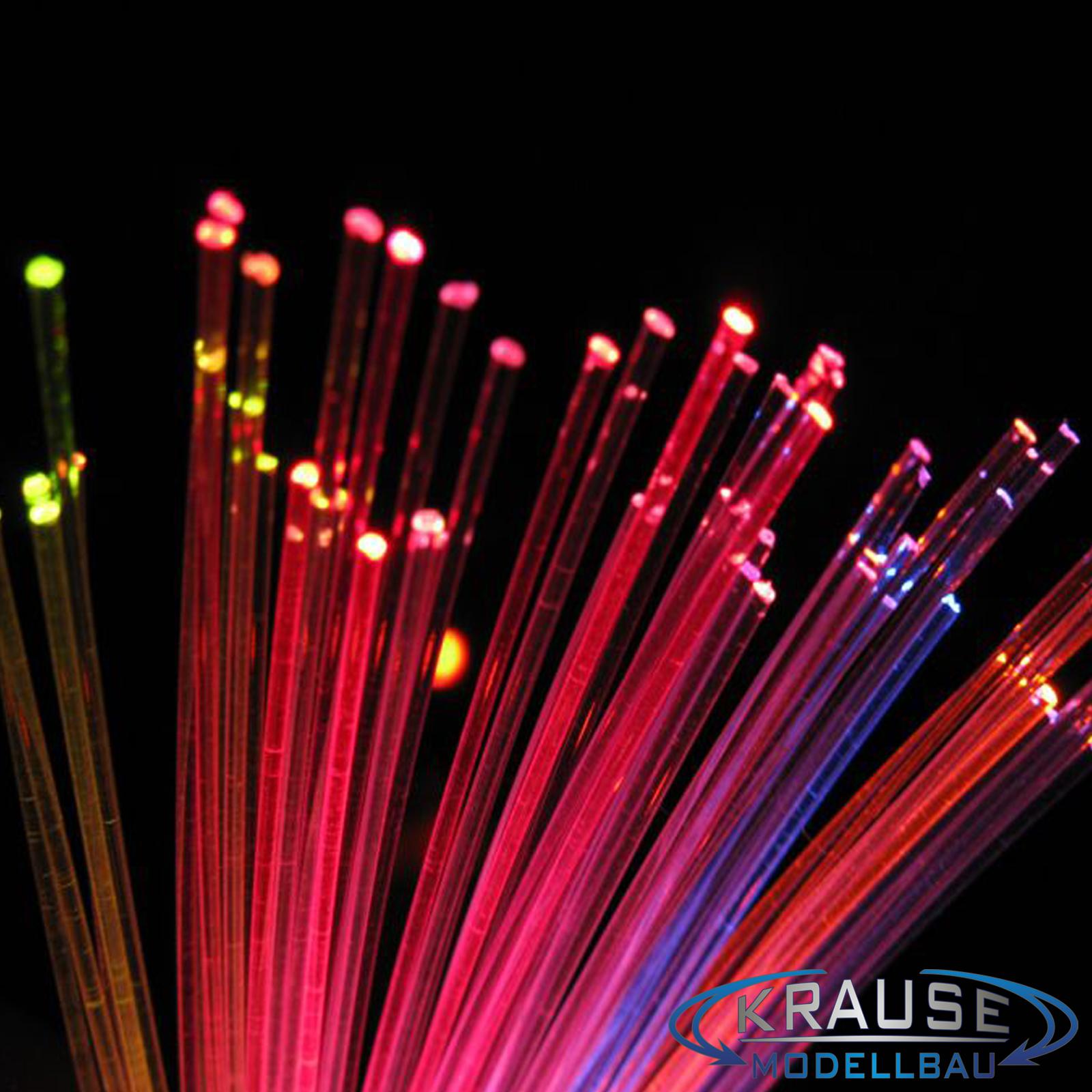 Lichtleitfaser 1 m flexible 0,75mm Licht wo Sie wollen