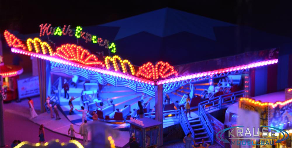 Beleuchtung Dachblenden Modell Musik Express Faller 140437 SMD RGB PIXEL LEDs