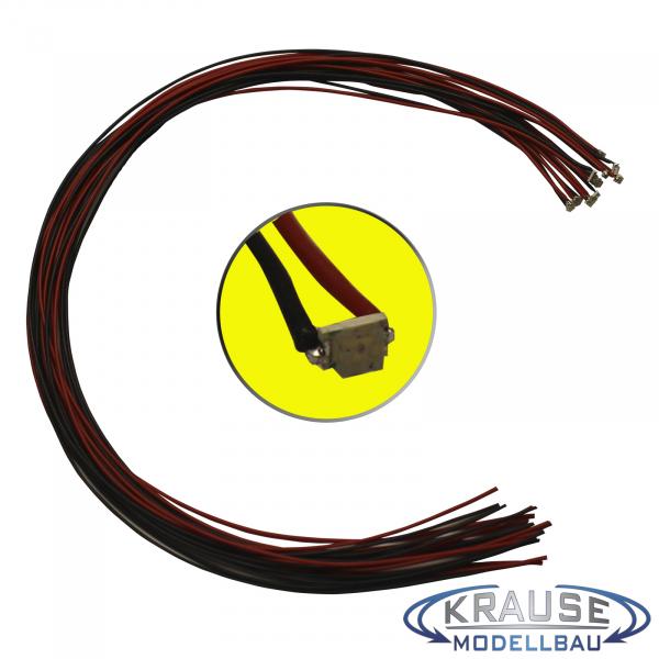 Krause Modellbau Shop - SMD-LED Typ 0805 gelb, klares Gehäuse mit ...
