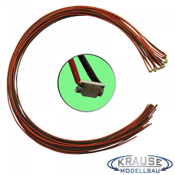 Krause Modellbau Shop - SMD-LED Typ 1206 grün, klares Gehäuse mit ...