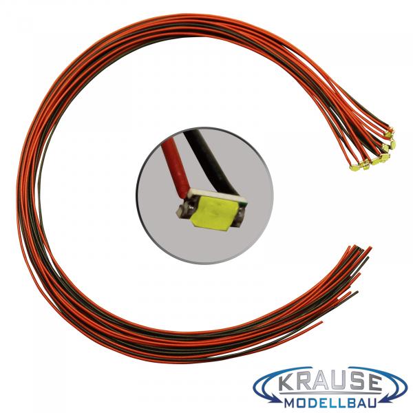 Krause Modellbau Shop - SMD-LED Typ 1206 hellweiss, diffuses Gehäuse ...