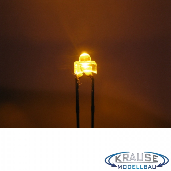 LED 1,8mm gelb klar