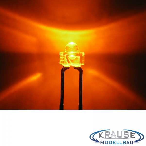 LED 1,8mm orange klar