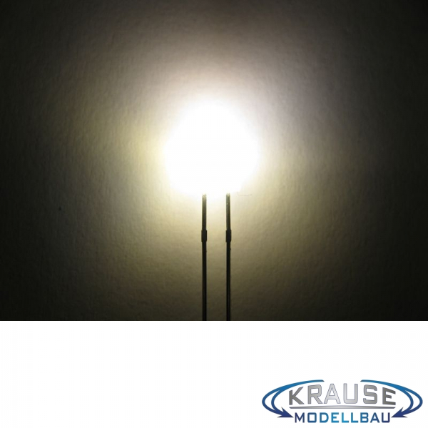 Tower LED lang 2mm warmweiss diffus blinkend