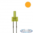 Tower LED lang 2mm gelb diffus blinkend