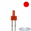 Tower LED lang 2mm rot diffus blinkend