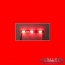 LEDBAR MINI LED Typ 1206 mit 3 roten LEDs