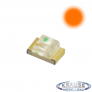 SMD-LED Typ 0805 orange, klares Gehäuse Serie 1